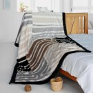 ONITIVA-BLK-106 [City Of God] Patchwork Throw Blanket (61 by 86.6 inches)