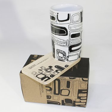 SYNC-ZS09 [Brick] Graphic Mug w/ Wood Coaster - No Handle (4.4 inch height)
