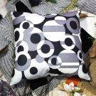 BETTINO-FJ-015 [Pop Art] Decorative Pillow Cushion / Floor Cushion (23.6 by 23.6 inches)
