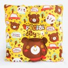 BN-CC001 [Special Day - Bear] Chair Seat Cushion / Chair Pad  (15.8 by 15.8 inches)