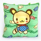 BN-CC003 [Green Candy Bear] Chair Seat Cushion / Chair Pad (15.8 by 15.8 inches)