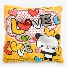 BN-CC004 [Love Panda] Chair Seat Cushion / Chair Pad (15.8 by 15.8 inches)
