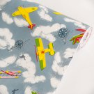 AIH-P1030-Swatch Flying Fun - Self-Adhesive Wallpaper Home Decor(Sample)