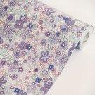 AIH-P1108-1-Roll Purple Flowering Shrubs - Self-Adhesive Wallpaper Home Decor(Roll)