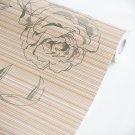 AIH-P1309-Swatch Herbaceous Peony-2 - Self-Adhesive Wallpaper Home Decor(Sample)