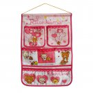 BN-WH011 [Bear & Chicken] Pink/ Wall Hanging/ Wall Baskets / Hanging Baskets(14*22)