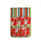 BN-WH016 [Red Apple] Wall hanging/ wall organizers / hanging baskets(14*20)
