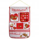 BN-WH022 [Bear & Heart] Red/Wall Hanging/ Wall Organizers / Hanging Baskets (15*21)