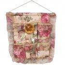 YF-WH086 [Bud Silk & Yellow Rose] Wall Hanging/ Wall Organizers /Hanging Baskets (16*18)
