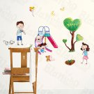 HEMU-HL-1212 Happy - Wall Decals Stickers Appliques Home Decor