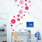 HEMU-HL-1220 Petal Wheel-1 - Wall Decals Stickers Appliques Home Decor