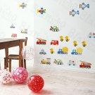HEMU-HL-1230 Transpotation - Wall Decals Stickers Appliques Home Decor