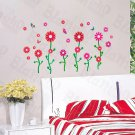 HEMU-HL-1289 Dancing Flourish - Wall Decals Stickers Appliques Home Decor