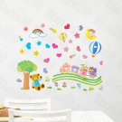 HEMU-HL-1308 Lovely Bear - Wall Decals Stickers Appliques Home Decor