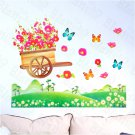 HEMU-HL-1319 Flowers & Fields - Wall Decals Stickers Appliques Home Decor