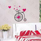 HEMU-HL-1514 Chic Bicycling M - Wall Decals Stickers Appliques Home Decor