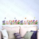 HEMU-HL-1569 Vibrant Spring - Wall Decals Stickers Appliques Home Decor