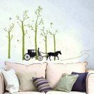 HEMU-HL-2115 Country Road - Large Wall Decals Stickers Appliques Home Decor