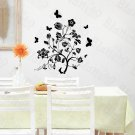 HEMU-HL-2150 A Blooming Tree - Large Wall Decals Stickers Appliques Home Decor