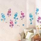 HEMU-HL-5607 Standing Wreath - Large Wall Decals Stickers Appliques Home Decor