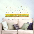 HEMU-HL-5647 Secret Garden - Large Wall Decals Stickers Appliques Home Decor