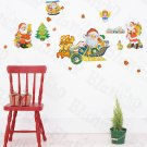 HEMU-HL-5836 Santa Season - Large Wall Decals Stickers Appliques Home Decor