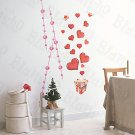 HEMU-HL-5874 Love Present - Large Wall Decals Stickers Appliques Home Decor