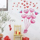 HEMU-HL-5876 Love Balloons - Large Wall Decals Stickers Appliques Home Decor