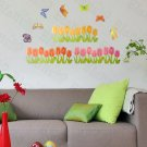 HEMU-HL-5930 Corner Blossom - Large Wall Decals Stickers Appliques Home Decor