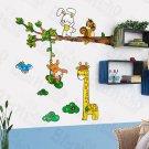 HEMU-HL-6810 Giraffe Friends - X-Large Wall Decals Stickers Appliques Home Decor