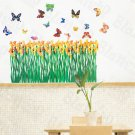 HEMU-HL-6819 Flying Butterflies 3 - X-Large Wall Decals Stickers Appliques Home Decor