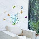 HEMU-HL-923 Precious Butterflies - Wall Decals Stickers Appliques Home Decor