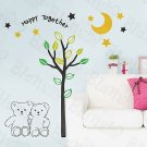 HEMU-HL-927 Happy Together - Wall Decals Stickers Appliques Home Decor