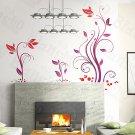 HEMU-HL-930 Rattan - Wall Decals Stickers Appliques Home Decor