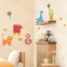 HEMU-HL-945 Zoo - Wall Decals Stickers Appliques Home Decor
