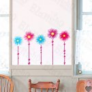 HEMU-HL-951 Two Blue - Wall Decals Stickers Appliques Home Decor