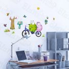 HEMU-HL-970 Bicycling 1 - Wall Decals Stickers Appliques Home Decor