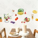 HEMU-HL-972 Tropical Fruit - Wall Decals Stickers Appliques Home Decor