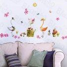 HEMU-HL-973 Love Cranes - Wall Decals Stickers Appliques Home Decor