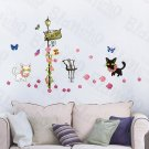 HEMU-HL-974 Kitty Couple - Wall Decals Stickers Appliques Home Decor