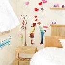 HEMU-HL-979 Fall in Love - Wall Decals Stickers Appliques Home Decor