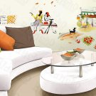 HEMU-HL-989 Shall We?-4 - Wall Decals Stickers Appliques Home Decor
