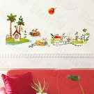 HEMU-HL-995 Sunny Day - Wall Decals Stickers Appliques Home Decor