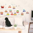 HEMU-HM-829 Chu Chu Train-2 - Wall Decals Stickers Appliques Home Decor