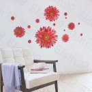 HEMU-LD-8080 Slid Petals - Wall Decals Stickers Appliques Home Decor