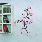 HEMU-LD-8092 Swing Flowers - Wall Decals Stickers Appliques Home Decor
