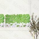 HEMU-SH-8071 Green Garden 4 - Wall Decals Stickers Appliques Home Decor
