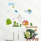 HEMU-SH-8072 Mushroom House - Wall Decals Stickers Appliques Home Decor