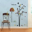 HEMU-SH-822 Autumn Tree - Wall Decals Stickers Appliques Home Decor