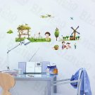 HEMU-SH-828 Village 2 - Wall Decals Stickers Appliques Home Decor